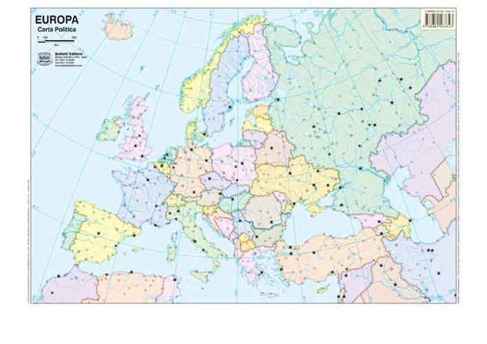 Cartina Muta Laghi Europa Pieterduisenberg