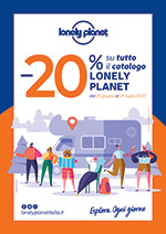 Lonely Planet destinazione Europa -25%